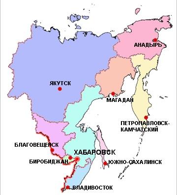 Карьеры Дальневосточного Федерального округа