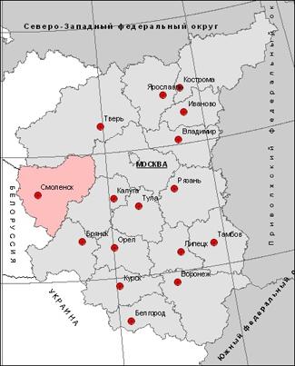 Месторождения владимиской области