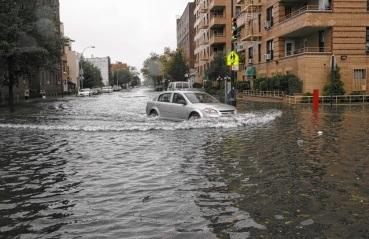 Нью-Йорк может оказаться под водой в любой момент.