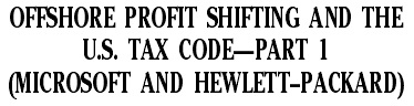 Корпорации США регистрируют сверхприбыль в оффшорах