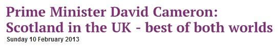 Лондон пугает Шотландию примером распада СССР и Югославии