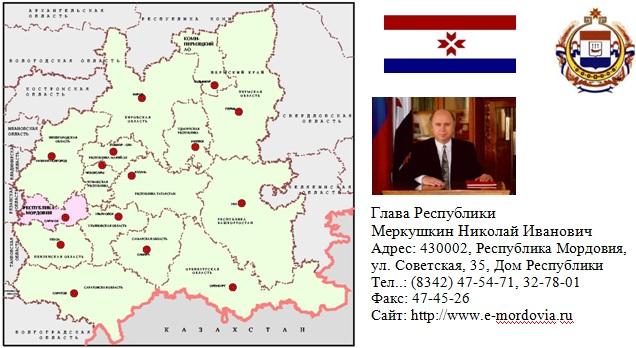 Месторождения Республики Мордовия