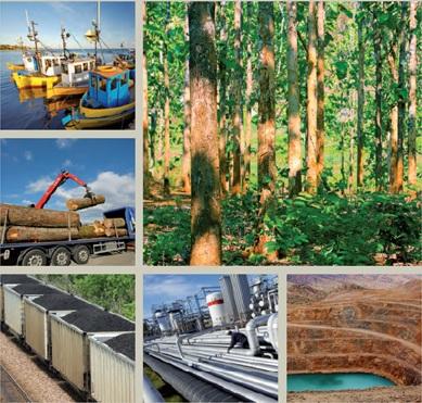 Россия - управление природными ресурсами 2012