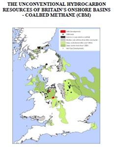 Добыча сланцевого газа в Англии 2013