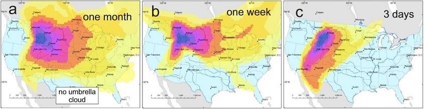 Половина территории США может быть уничтожена
