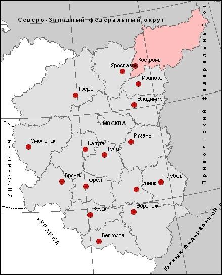 Месторождения Костромской области